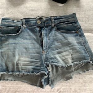 Express Denim Shorts Sz 10